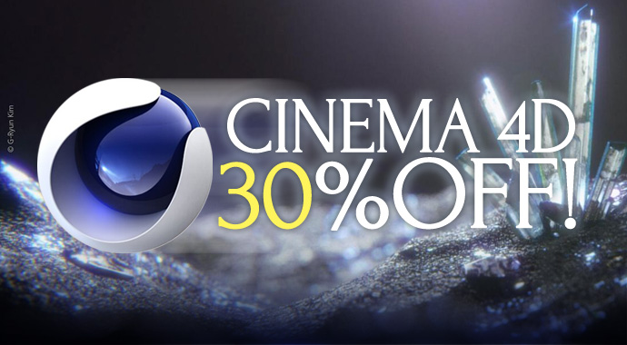 Cinema4D30%off