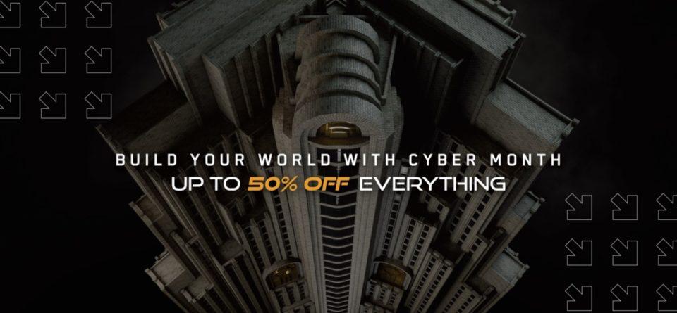 Kitbash3d-CyberMondaySale2020