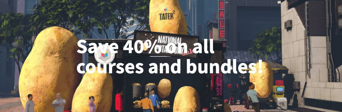 Learn Squared - National Potato Day Sale
