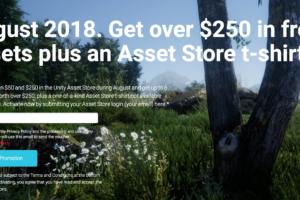 Unity Asset Store 201808 キャンペーン