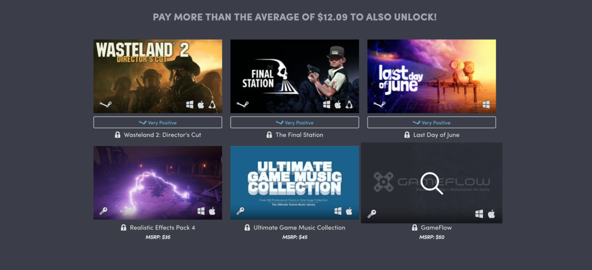 Humble Unity Bundle BTA