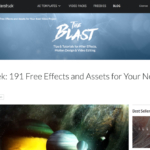 Rocket Stockで191種類のフリー素材が無償配付中!「Free Week: 191 Free Effects and Assets for Your Next Video Project」