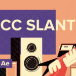 【After Effects】イラストを歪ませる時に便利な「CC Slant」