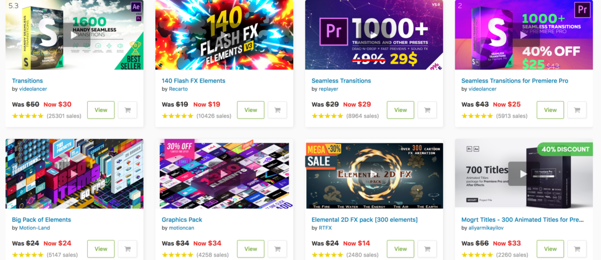 March Sale 2019 Videohive