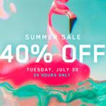 【セール】1日限定40%オフ「Red Giant Summer Sale 2019」が7/30に開催!