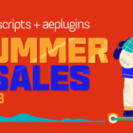 【セール】aescripts+aeplugins Summer Sale 2019 Week3が開催中!