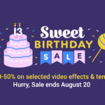 【8/20まで】Envato Marketで「Sweet Birthday Sale」が開催中!
