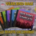 【セール】1日限定最大50%オフ!Red Giant Year End Sale 2019が開催中!