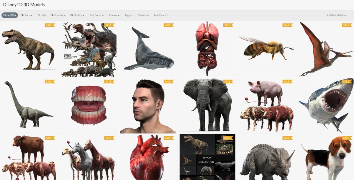 img_DisneyTD 3D Models