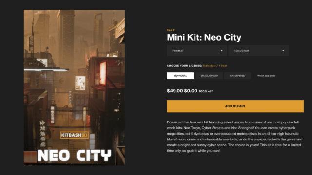 Kitbash3D-NeoCity