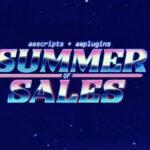 【セール】aescripts+aepluginsでSummer Sale Week4が開催中!