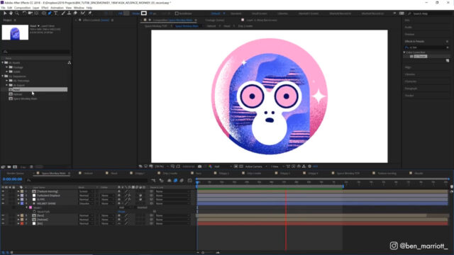 After Effects Textures and Mattes - Animation Tutorial_img01