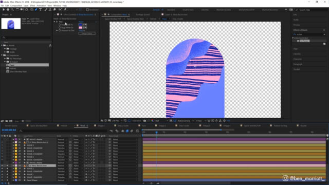 After Effects Textures and Mattes - Animation Tutorial_img02