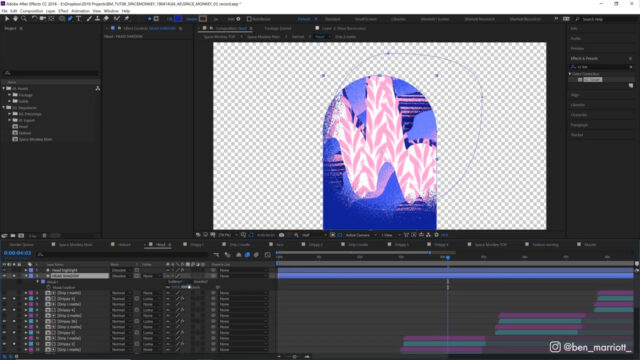 After Effects Textures and Mattes - Animation Tutorial_img03