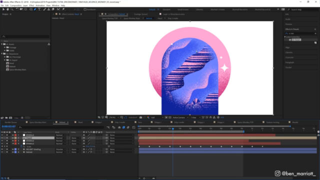 After Effects Textures and Mattes - Animation Tutorial_img04