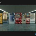 """<span class=""""title"""">【無料】Jan Urschel氏製作の自動販売機の3DモデルがArtStationにてダウンロード可能(#Blender)</span>"""