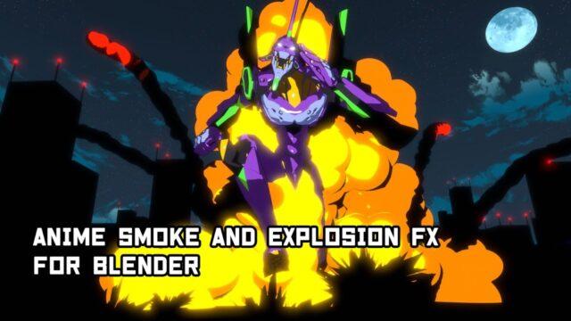 Blender-AnimSmoke&Explosion