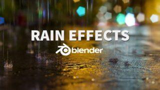 Blender-RealisticRain