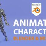 【Blender】無料でできるMixamoのモーションキャプチャーを使ったアニメーションチュートリアル
