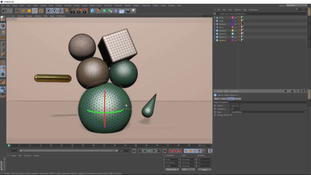 C4D Abstract Art with Deformers_img02