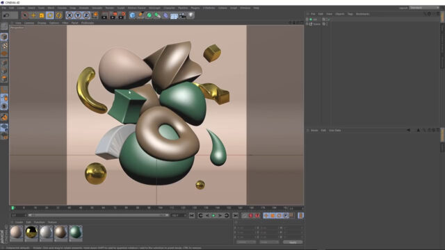 C4D Abstract Art with Deformers_img04