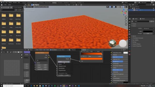 Create Procedural Stepped Landscapes with Nodes!!! (Blender Tutorial)-img01