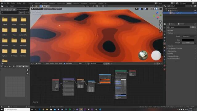 Create Procedural Stepped Landscapes with Nodes!!! (Blender Tutorial)-img02