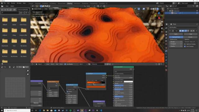 Create Procedural Stepped Landscapes with Nodes!!! (Blender Tutorial)-img03