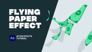 Flying Paper Effect-thumbnail