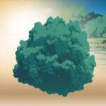 【無料】ジブリ調の木を再現できるプロジェクトデータがダウンロード可能(#Blender)