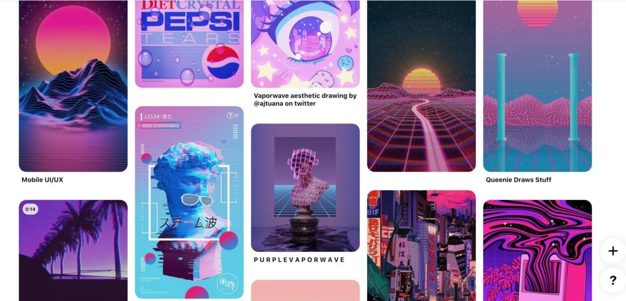 Pinterest-Vaporwave