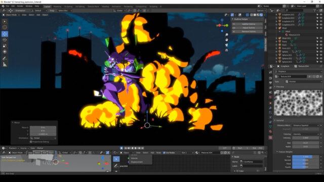 Tutorial_ Anime style Smoke & Explosion FX_5