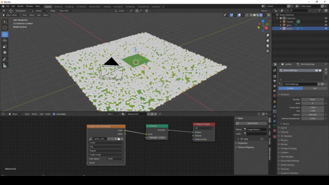 Tutorial_ Ghibli_Breath of the wild Anime Stylized Grass in Blender (Cycles only) _1