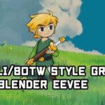 【無料】アニメ調の草原を作るチュートリアル(#Blender)