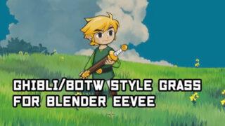 Tutorial_Ghibli_BoTW Anime Stylized Grass in Blender wth EEVEE_img