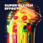 【無料】Valeri Visuals氏が作成したGlitchのプロジェクトファイルがダウンロード可能(#After Effects)