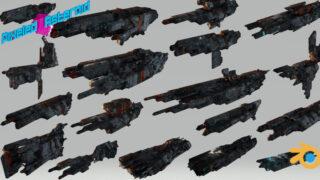 Free Procedural Spaceship Maker-thumbnail